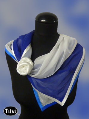 Scarf Finland 100 years. Click to the netshop.